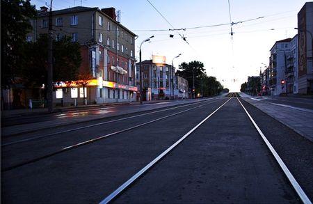 фото трамвайные пути