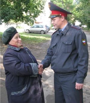 Жительница Ленинского района Ижевска поблагодарила участковы…